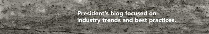 President's blog focused on industry trends and best practices.